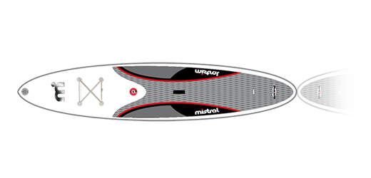 Mistral Equipe 12'6 Superlight - High-End- SUP